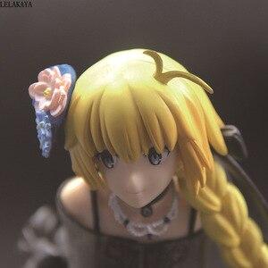 Image 5 - 24cm japoński los wielki rozkaz Joan of Arc szabla duch sukienka Ver Model PVC dekoracja Anime kolekcja figurek lalka nowość