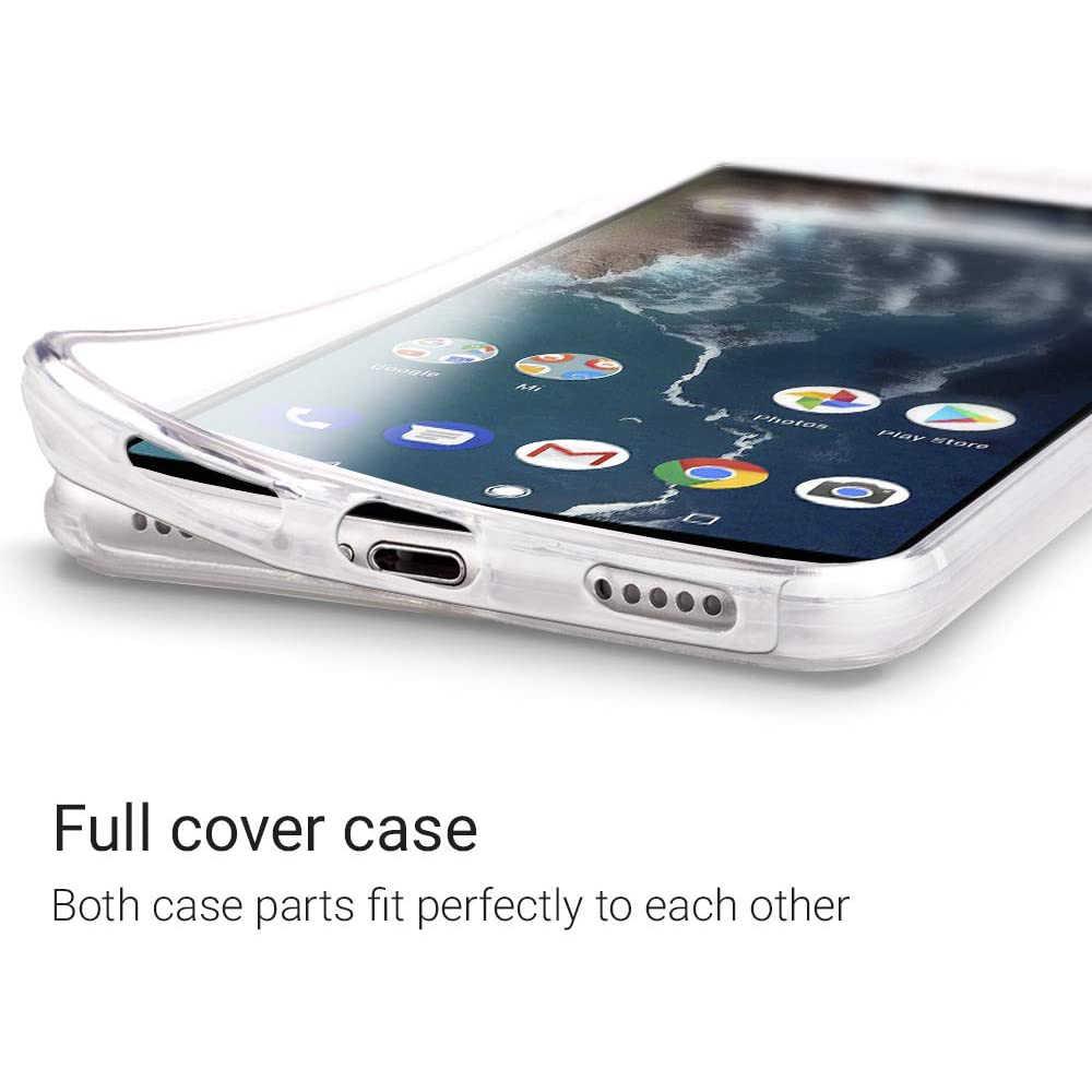 360 מלא כיסוי מקרה עבור Huawei P40 P30 פרו Mate 30 לייט 20 10 P20 P10 כבוד 8X מגן שקוף סיליקון טלפון אבזרים