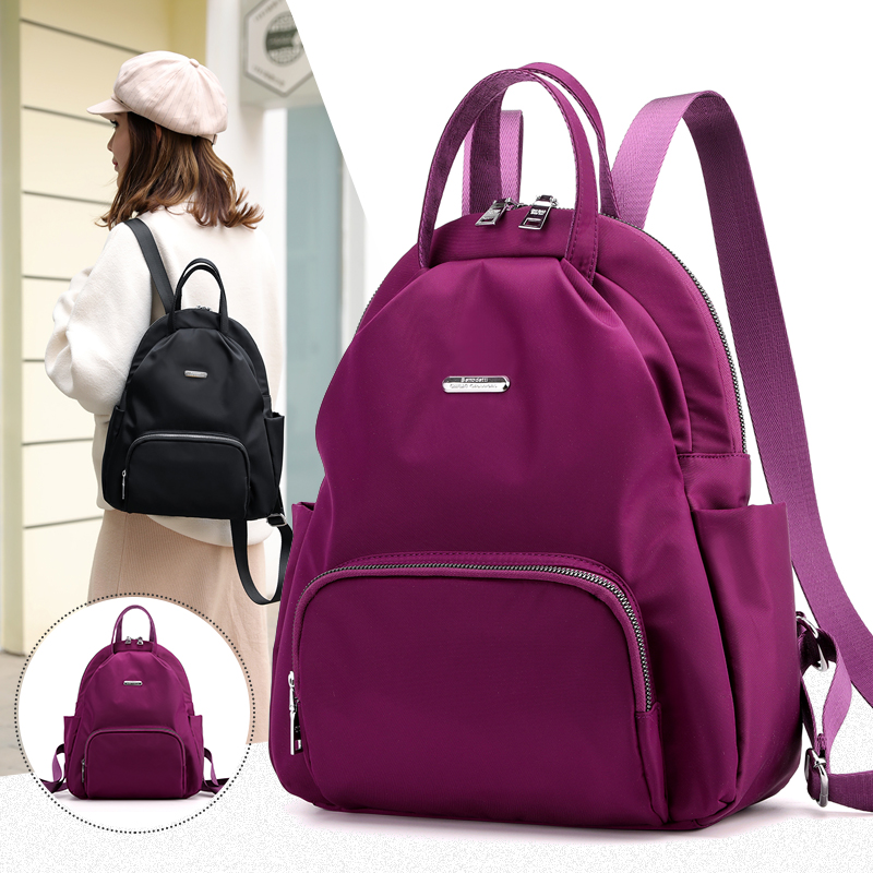 Vento Marea Women's Backpack 2020 Female Large Capacity Shoulder Bags Red Rucksack Casual Waterproof School Bag For Teenage Girl