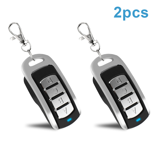 2pcs Gate Remote Control garage Multi Frequency Duplicate 300 900mhz Command Handzender Garage Door Opener keychain