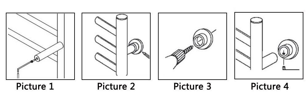 圆管安装图