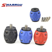 Sharrow 1 Piece Archery Bow Stabilizer Accessory 3 Colors for Compound and Recurve Hunting Shooting Sports