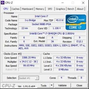 Image 3 - free shipping INTEL CPU I7 3840QM SR0UT I7 3840QM SROUT 2.8G 3.8G/8M