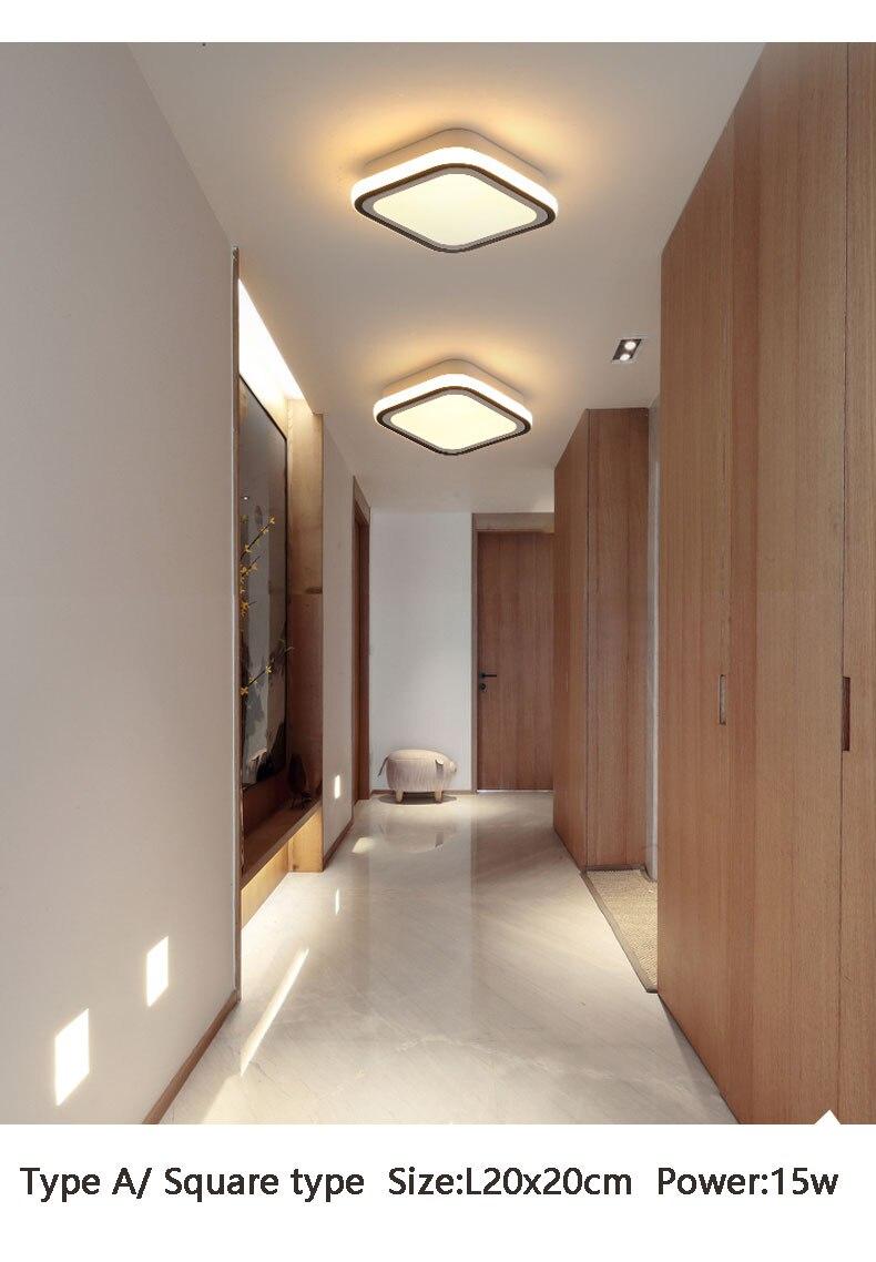com lâmpadas led para quarto e sala
