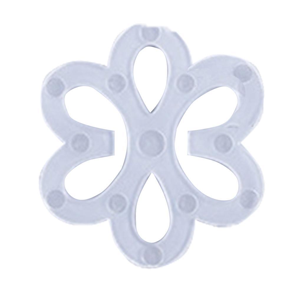 2PCS/set Underwear Shoulder Strap Button Dresses Bra Buckle Non-skid Strap Chest Buckle Plum Butterfly Underwear Belt Button