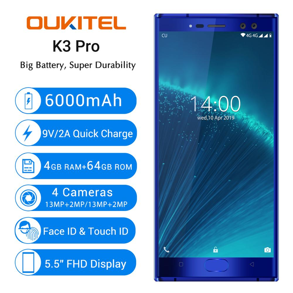 Oukitel K3 Pro 4GB 64GB Smartphone 5.5