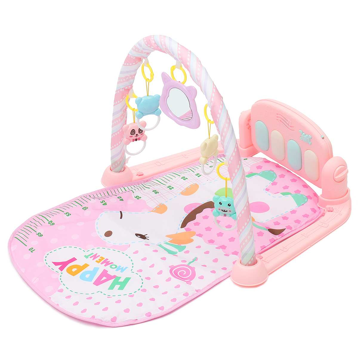 Mat Kids Rug Educational Puzzle Carpet With Piano Keyboard And Cute Animal Playmat Baby Gym Crawling Activity Mat Toys