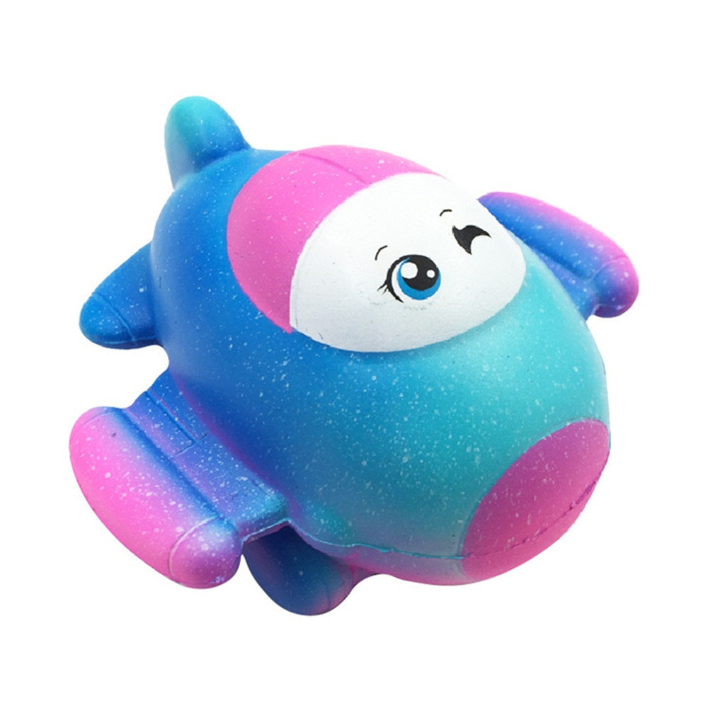 Star Plane Squishy Slow Rising Collection Gift Squeeze Toy Stress Relief Novelty Fun Toys Gift For Children Funny Gadgets #B