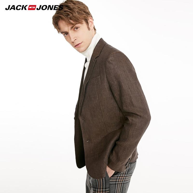JackJones Mens Business Casual Suit Blazer| 219108517