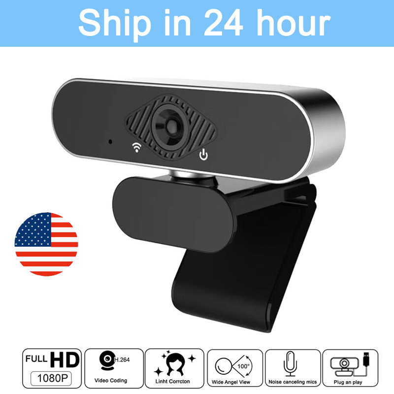 HD Webcam 1080P HDWeb Kamera mit-in HD Mikrofon 1920x1080P USB Stecker Spielen Web Cam widescreen Vide