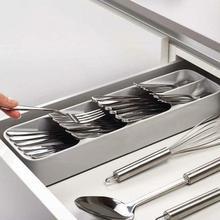 Кухонный ящик, органайзер, лоток, ложка, столовые приборы, разделительная коробка для домашнего хранения