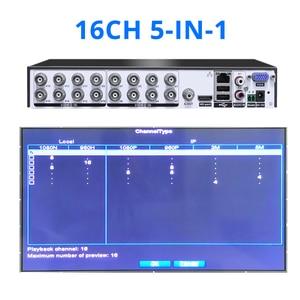 Image 4 - Hiseeu16CH 5in1 AHD DVR עבור CVBS TVI AHD אנלוגי IP מצלמה CCTV NVR P2P ענן H.264 VGA HDMI אבטחת מערכת וידאו מקליט אודיו