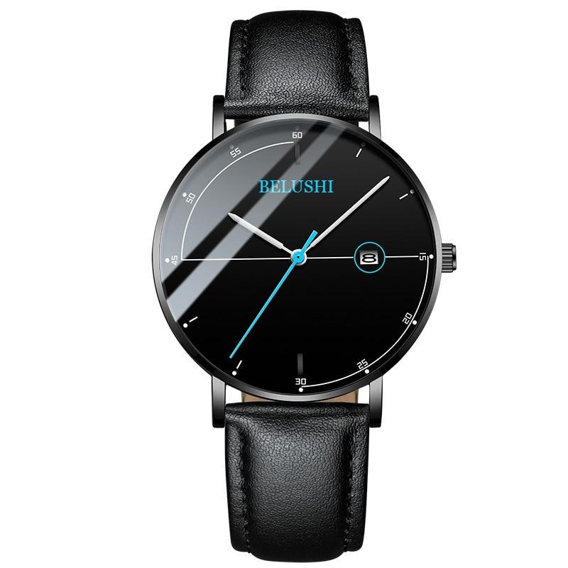 Watch Business Affairs Leisure Time Quartz Watch Waterproof Skin Net Bring