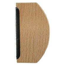Портативный деревянный поднос гребень для волос кашемировый