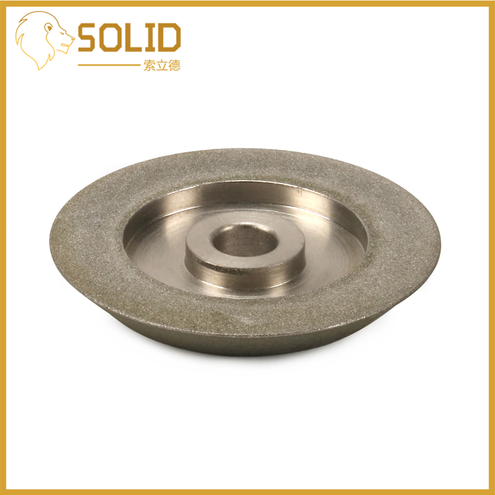 Diamond Grinding Wheel 78x12.7x10mm Grit150 Cutter Grinder Grinding Disc For Grinding Abrasive Cutting Tool 45 Degree Angle