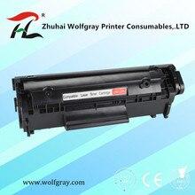 Совместимый картридж с тонером для принтера Q2612A q2612 2612a 12a 2612 для hp laserjet 1010/1020/1015/1012/3015/3020/3030/3050 принтер