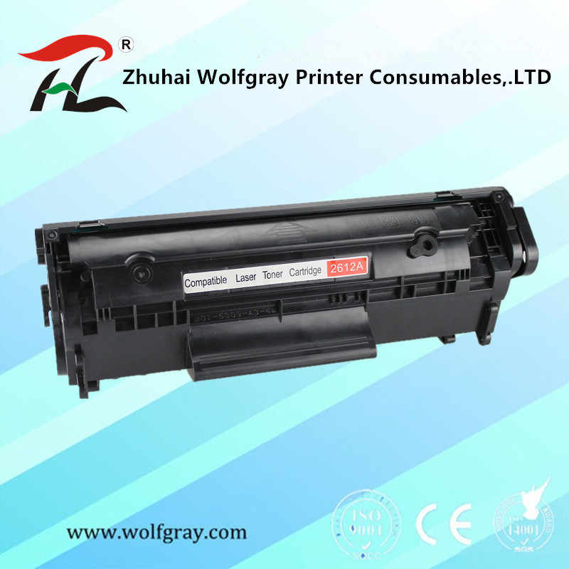 Toner Cartridge Q2612A Q2612 2612A 12A 2612 untuk HP LaserJet 1010/1020/1015/1012/3015/3020 /3030/3050 Printer