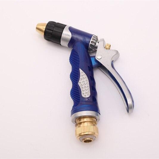 Manufacturers Direct Selling High Pressure Car Washing Gun Sea Blue Simplicity Installation Water Gun Multi-functional Garden Ho