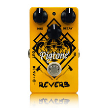 цена на Pigtone PP-08 digital reverb Guitar effect pedal acoustic electric guitar accessories effects pedals Real bypass