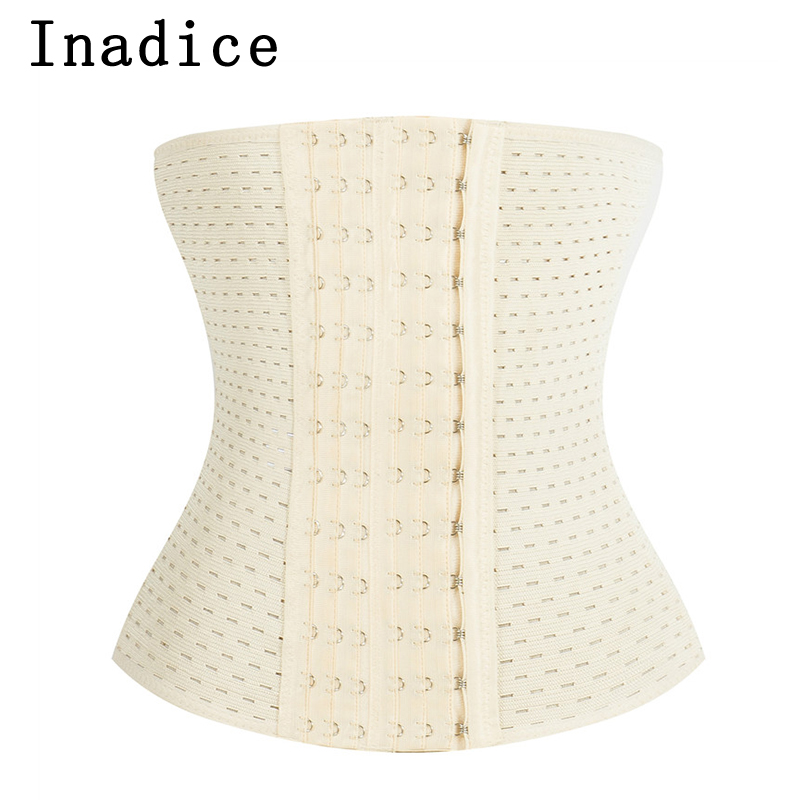 Inadice 2019 Soft Tummy Shaper Lady Elastic Belt Breathable Clothes Corset Belt Polyester Women Belt Lose Weight Slimming Belt