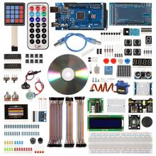 Mega 2560 Project Complete Starter Kit including LCD1602 IIC Ultrasonic Sensor for Arduino