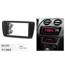 11-364 Car DVD CD Radio Fascia Trim install kit for SEAT Ibiza 2008+ Stereo Dash Facia Trim Surround CD Installation Frame Kit