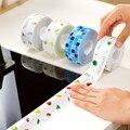 Водостойкая наклейка для кухонной раковины, анти-плесень, водонепроницаемая лента для ванной комнаты, столешница, туалет, самоклеющиеся на...