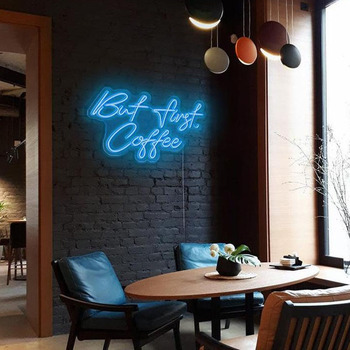 But First Coffee Neon Sign