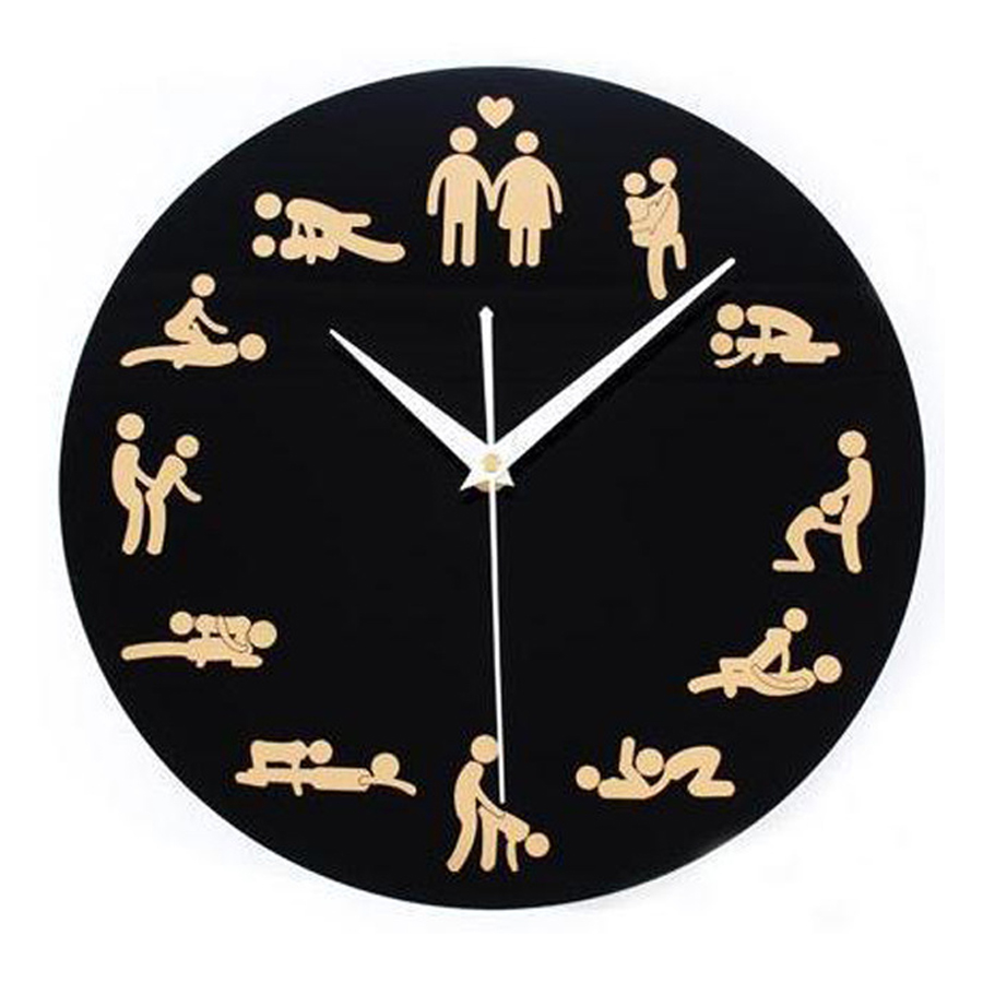 Acrylic Wall Clock Modern Design Decorative Bedroom European Style Fun Boudoir Clocks Wall Watch Home Decor Silent 12 Inch