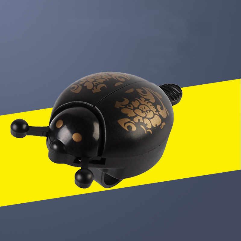 Dzwonki rowerowe klakson alarmowy rower biedronka dzwonek biedronka dzwonek alarmowy pierścień rogi rower metalowy klakson na kierownicę jazda na rowerze akcesoria bezpieczeństwa