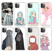 Arabic Hijab Girl Queen Crown Phone Case For Apple iPhone 11 Pro 6 6S 7 8 Plus 10 X XS MAX XR 5 5S SE Phone Case Cover nbdruicai ottwn arabic hijab girl queen crown silicone phone case cover for iphone 11 pro xs max 8 7 6 6s plus x 5 5s se xr case