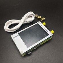 NanoVNA blanc 2.8 pouces tactile LCD HF VHF UHF UV vecteur analyseur de réseau 50 KHz 300 MHz analyseur dantenne + batterie