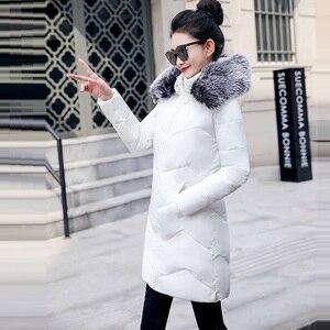Image 5 - 2019 veste dhiver femmes épais neige porter hiver manteau dame vêtements femmes vestes Parkas