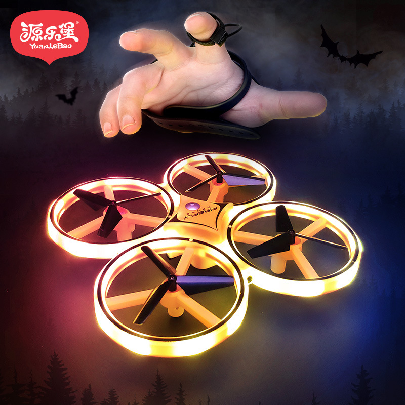 SOURCE Lobo Watch Control Quadcopter Intelligent Suspension Sensing Remote Control Toy Plane Children Unmanned Aerial Vehicle
