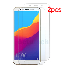 2 Pack 9H Protective Glass For Huawei Honor 7C 7A Pro Tempered Glass For Honor 7C Russian Version AUM-L41 Screen Protector Film