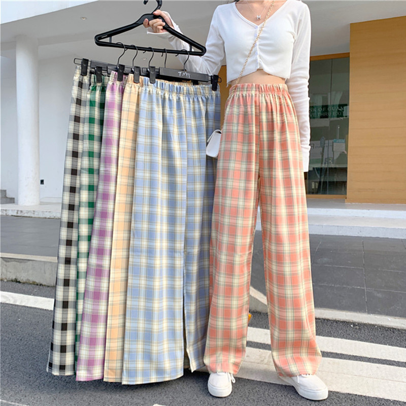Sweatpants Women Clothes Pants Streetwear 2020 Winter Fashion Korean Style Wide Leg Harajuku Baggy Black High Waisted Vintage Matching In Colour