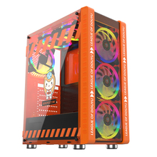 Case RGB Computer-Case Water-Cooler Gaming Game-Chassis ATX MICROE 330-9 240mm Host-Supports