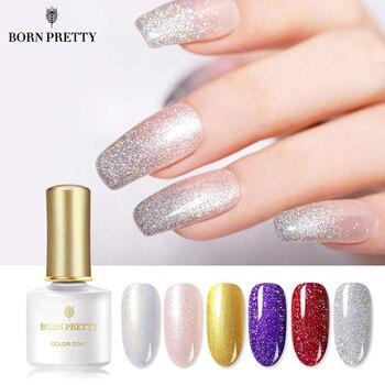 Born Pretty Glitter Lentejuelas Esmalte De Uñas Gel 6ml