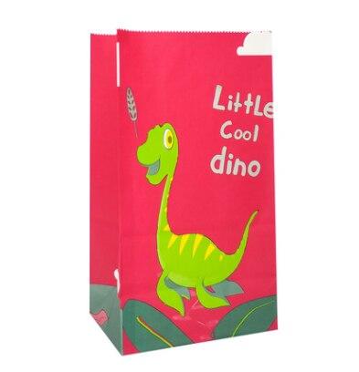12 Bolsas de Papel para Dulces Bolsas de Golosinas Peque/ñas para Cumplea/ños de Ni/ños Halloween Boda Fiesta Gxhong Bolsas de Papel de Dinosaurio Bolsas Pegatinas