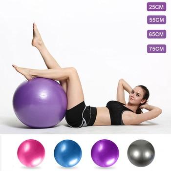 25cm/55cm/65cm/75cm Balance Yoga Ball Exercise Home Fitness Ball Yoga  Pilates Training Sport Equipment For Woman Drop Shipping 1