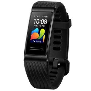 Image 3 - Huawei banda 4 pro smartband monitor de saúde freqüência cardíaca autônomo gps proativa monitoramento saúde spo2 oxigênio no sangue