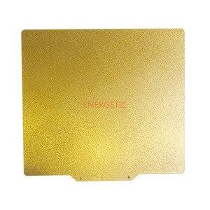 Image 2 - エネルギッシュな新パウダーコーティングされた pei (片側) 春鋼板 + 磁気ベース flexplate システム 3D プリンタ温床