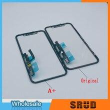 3 ב 1 Digitizer זכוכית + OCA + מסגרת עבור iPhone XR 11 LCD מסך מגע זכוכית Repaire חלקים