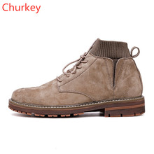 Men Shoes Mens Boots Leather Male Comfortable Shoe High Top Sneakers Ankle Strap Leather Booties Men Winter Boots Mens Shoes fall non slip booties genuine leather shoes full grain black high top faux fur ankle handmade men winter mens zipper dress boots