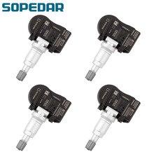 SOPEDAR 4PCS TPMS Tire Pressure Sensor 433MHZ 43139-61M00 For Suzuki Vitara SX4  S-cross Swift Jimmy Car tyre Monitoring System