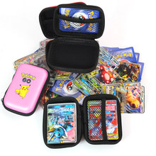 50 capacità porta carte Album custodia rigida porta carte Pokemon Pikachu carte da gioco porta libri carte Pokemon Pokemon Gx MEGA