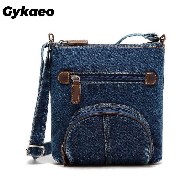 Women Messenger Bags Ladies Mini Small Shoulder Bag Satchels Girls Crossbody Summer Sling Vintage Bag Denim Bolsos Sac A Main
