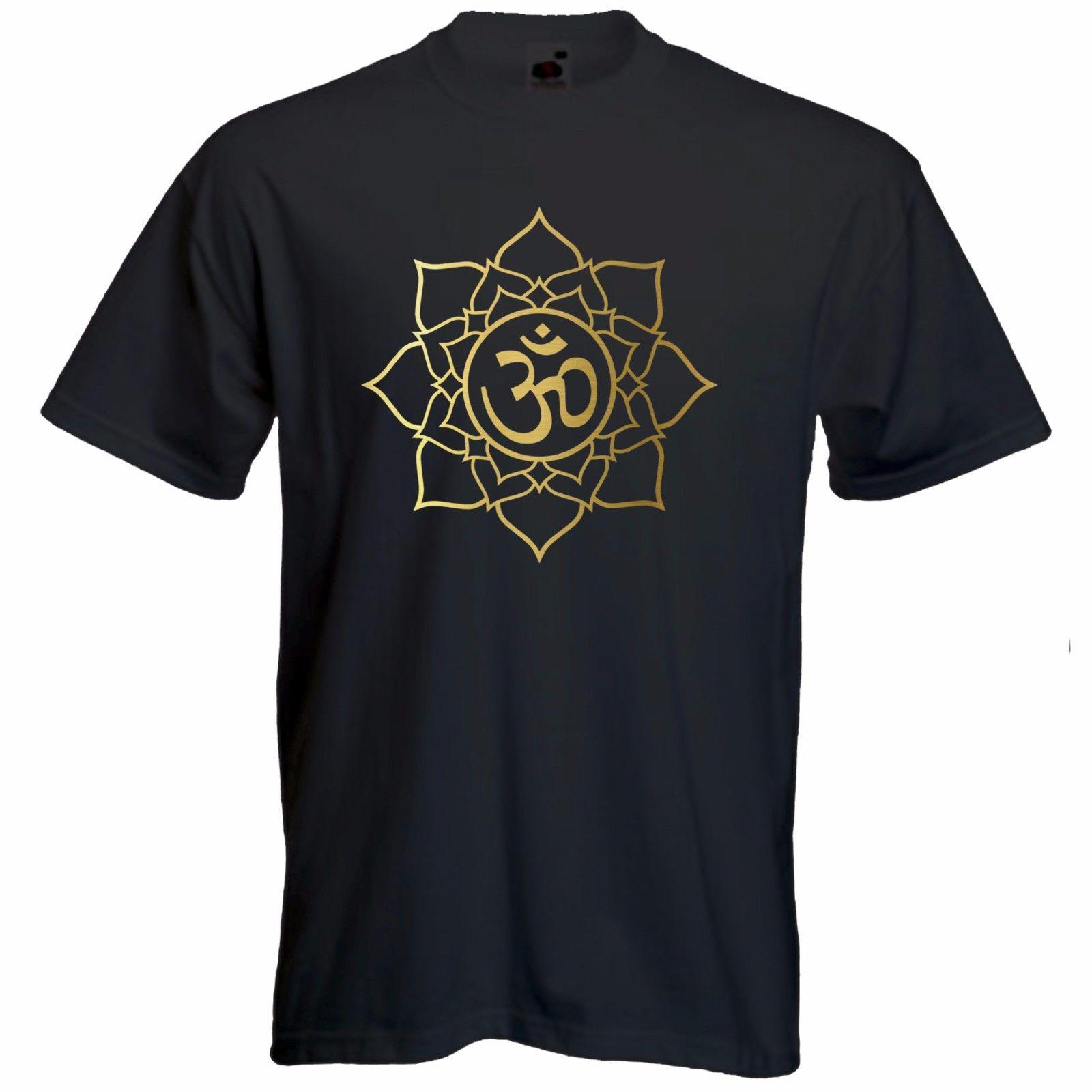 Camiseta Mandala-indie-hindú estilo sagrado geometría t-mens de manga corta Camiseta Cool Casual pride camiseta hombres Unisex moda camiseta