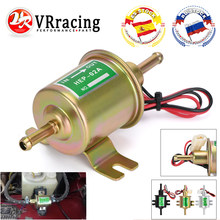 Bomba de combustible eléctrica Universal, 12V, cable de fijación de perno de baja presión, HEP-02A de gasolina diésel para carburador de coche, motocicleta, ATV, 3 colores