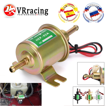 3 Colors Universal 12V Electric Fuel Pump Low Pressure Bolt Fixing Wire Diesel Petrol HEP-02A For Car Carburetor Motorcycle ATV - discount item  30% OFF Auto Replacement Parts